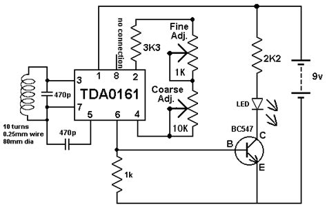 circuit diagram of range gold detectors work schematics gold detector circuit get free
