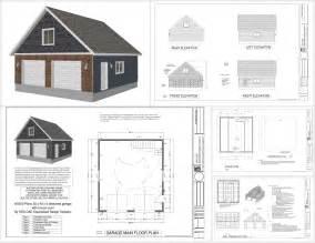 Smart Placement Above Garage House Plans Ideas by G550 28 X 30 X 9 Garage Plans With Bonus Room Sds Plans