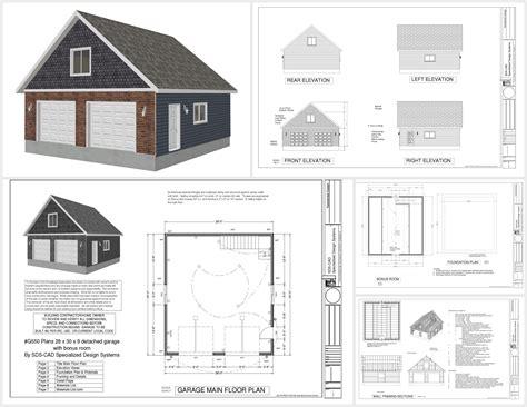 genius garage workshop plans free g550 28 x 30 x 9 garage plans with bonus room sds plans