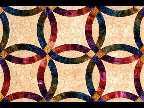 wedding ring part 1 quilt by shar jorgenson youtube