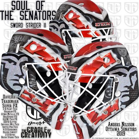 62) of the 2009 nhl draft. I Love Goalies!: Anders Nilsson 2018-19 Mask