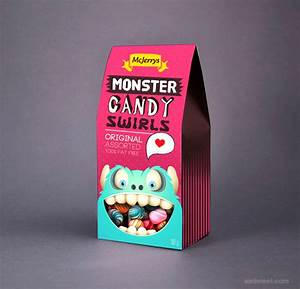 30 creative food packaging design examples around the world With candy packaging ideas