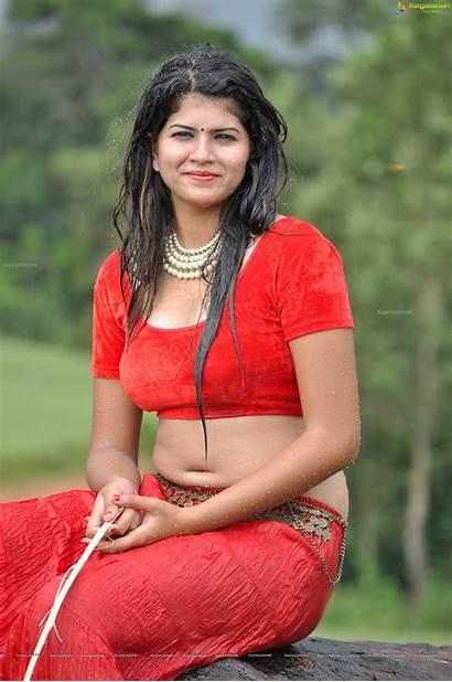 Actress Apoorva Navel Saree Rai Deep Spicy