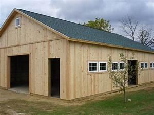post frame barns pole barn construction pole barn builder With barn builders michigan