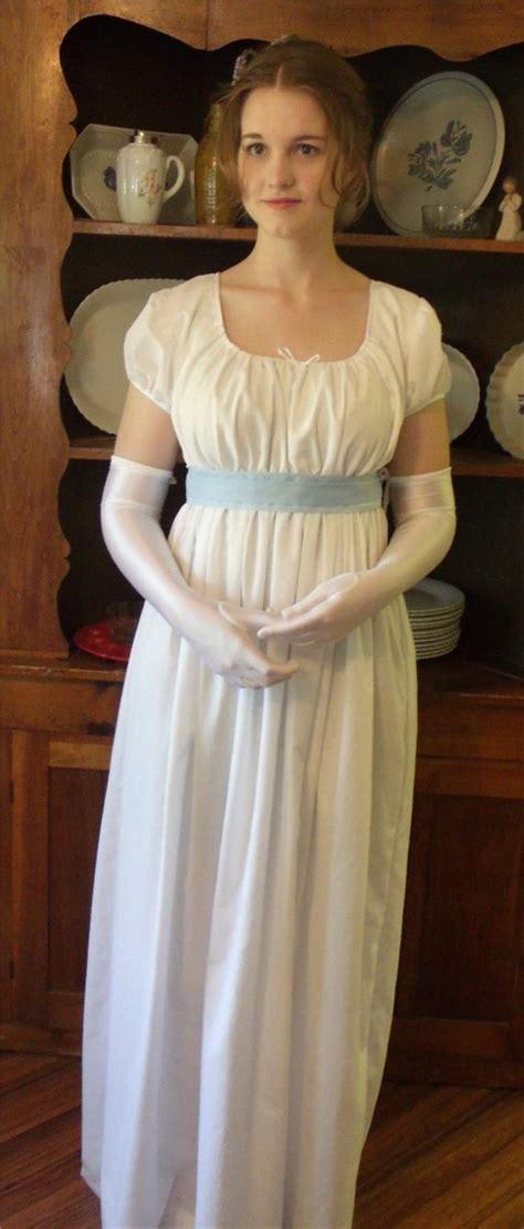 regency ball dress gown jane austen pride   regencyera