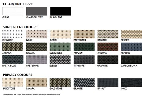 colour range ozrite awnings outdoor blinds ozrite awnings outdoor blinds brisbane