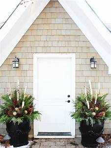 Christmas, Planter, Ideas, Pictures, Remodel, And, Decor