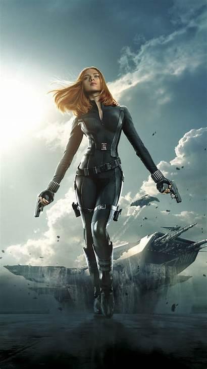Widow Marvel Scarlett Johansson Desktop Wallpapers Mobile