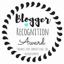 Résultat d'images pour Blogger Recognition Award