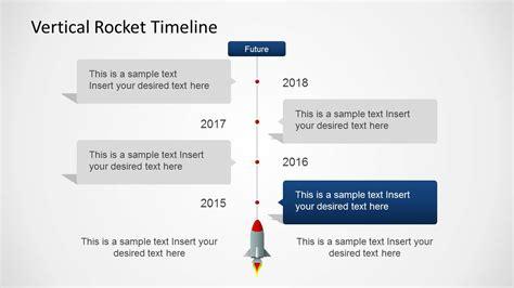vertical timeline template vertical rocket timeline template for powerpoint slidemodel