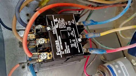 Rheem Ac Capacitor Wiring Diagram by Furnas Contactor Wiring Diagram Wiring Diagram