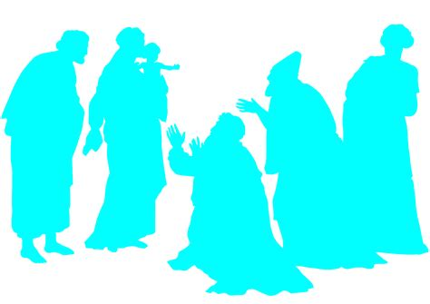 Adoration Of The Magi Silhouette