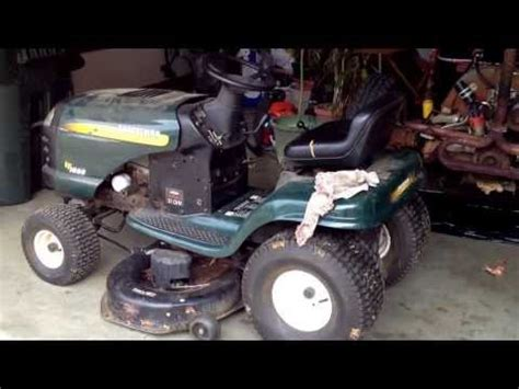 Craftsman Lt2000 Deck Belt Replacement by How To Replace Craftsman Lt2000 Mower Deck Belt How To