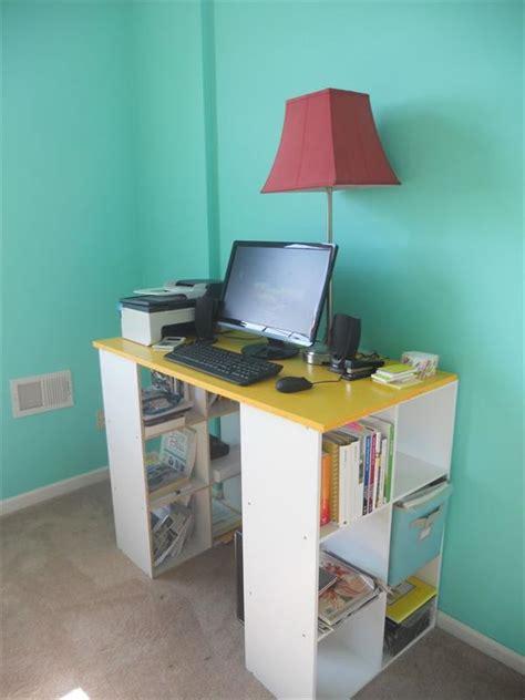diy desk with storage 15 diy computer desk ideas tutorials for home office