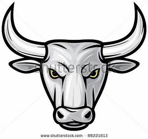 Taurus clipart bull head - Pencil and in color taurus ...