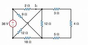 dc finding current using kirchoff law but getting With program to create a resistor network for the following circuits