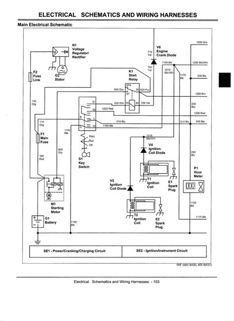 electrical diagram  john deere  bing images