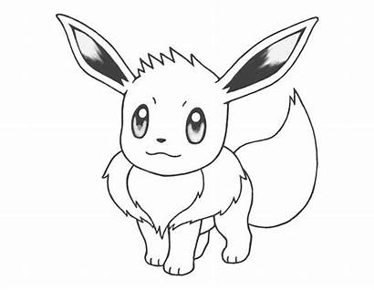 Pokemon Coloring Espeon Pages Printable Getcolorings