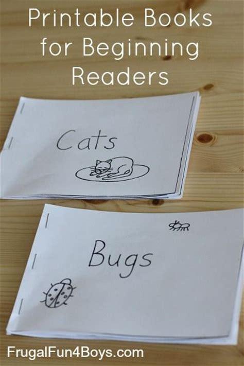 printable books  beginning readers level  easy