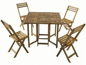 Ensemble Table 4 Chaises De Jardin Vente De Ensemble