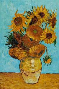 Vincent Van Gogh, Sunflowers - Hand Painted Oil Painting ...
