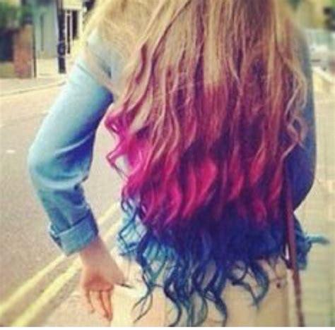 dye  hair  kool aid tipit  caitlyn