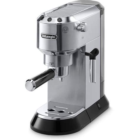 espresso maschine delonghi delonghi dedica 15 bar espresso machine with cappuccino system ebay