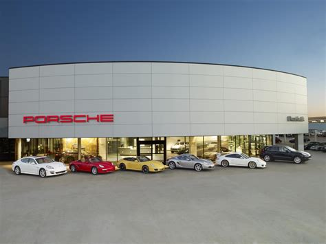 porsche dealership porsche beats 2011 sales record