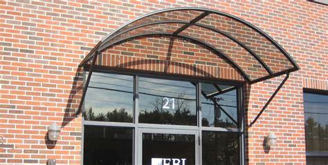 polycarbonate window door awnings