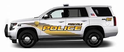 Graphics Police Tahoe Kits Chevrolet Vehicle Csd