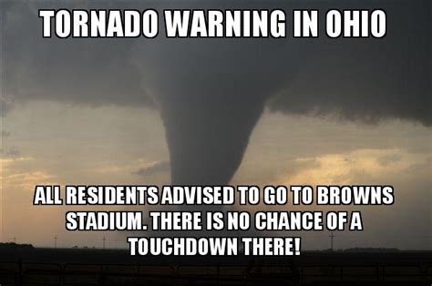 Tornado Memes - cleveland browns funny pictures all 32 of today s nfl starting quarterbacks if they were cover