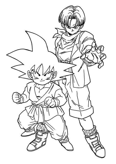 dragon ball  coloring pages  coloring home