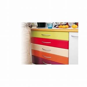 recouvrir meuble cuisine adhsif latest fabulous top porte With carrelage adhesif salle de bain avec meuble tv noir avec led