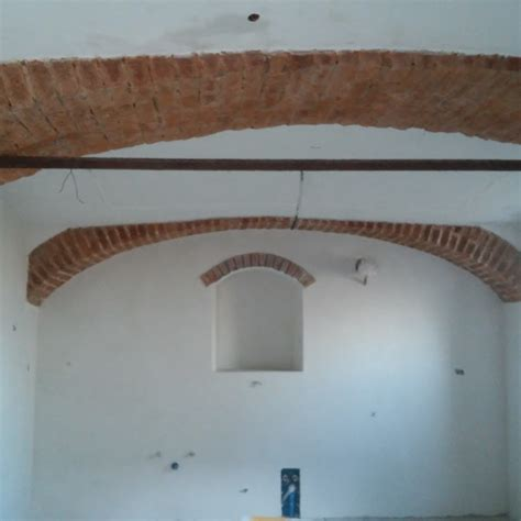 soffitti a botte foto soffitti a botte e pareti dopo rasatura di impresa