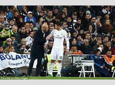 Real Madrid boss Zinedine Zidane admits his squad size