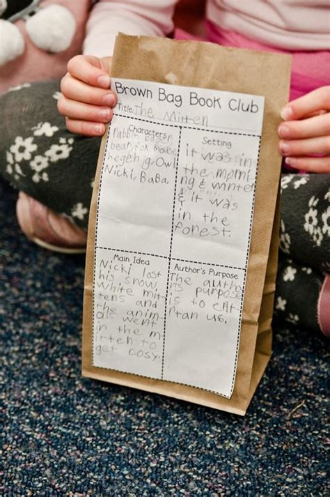 brown bag book club kids book club  grade parade