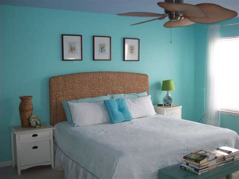 Aqua Colored Home Decor: Color Changes Everything–Aqua Master Bedroom Makeover