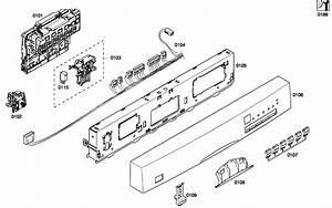 Bosch Dishwasher Door Assy Parts