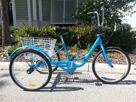 Adult Tricycle, 3 Wheel Bicycle- 24