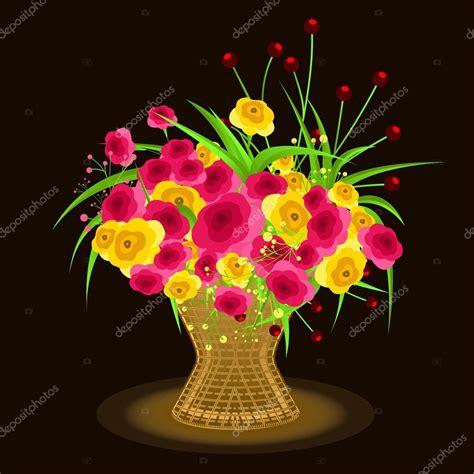 bouquet de fleurs anniversaire photo bouquet de fleurs pour anniversaire image vectorielle baavli 169 125473352