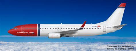 Norwegian Boeing 737 800 Winglet