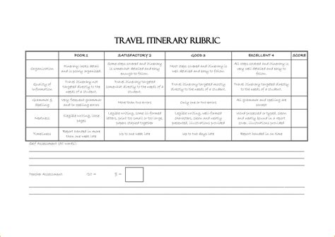 itinerary template word teknoswitch