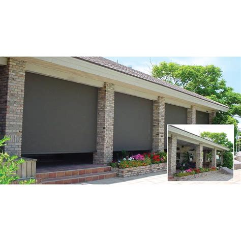 Electric Roll Up Patio Screens by 100 Electric Roll Up Patio Screens Rectractable