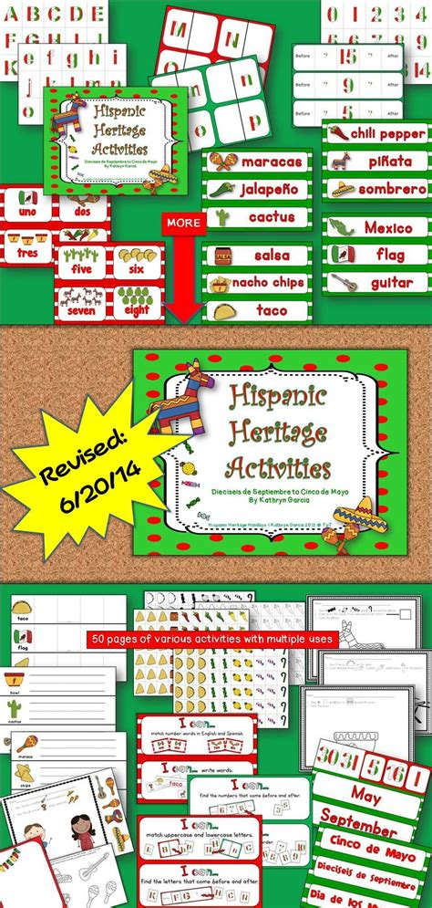 Hispanic Heritage Mexican Independence Day Dieciseis de ...