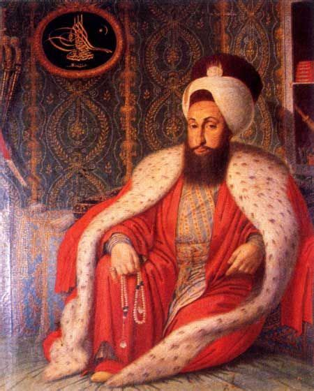 Sultans Ottomans by Portrait Of The Ottoman Sultan Selim Iii 1761 1808 In