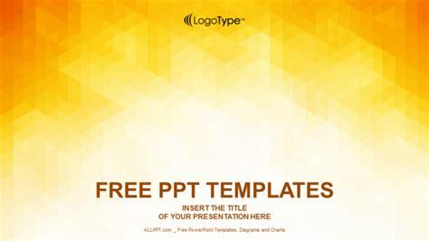 orange abstraction design powerpoint templates
