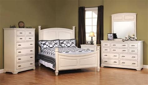 american  johnson white bedroom furniture set  solid