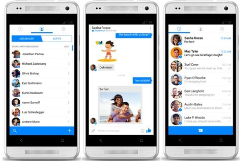 messenger app android pushing mobile users to use messenger app