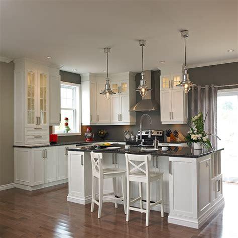 comptoir ilot cuisine cuisines beauregard cuisine réalisation 260 îlot de