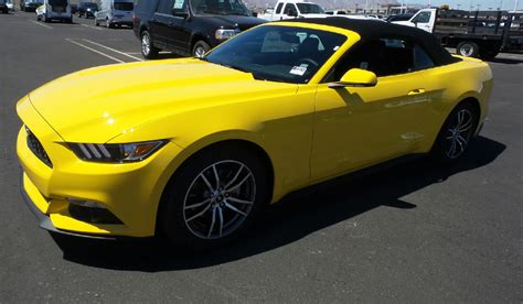 Triple Yellow 2017 Mustang  Paint Cross Reference